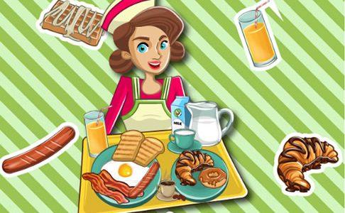 Reggeli főzős játék