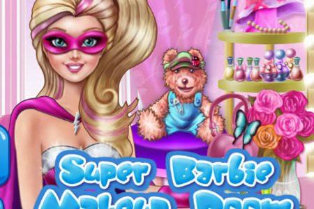 Szuper Barbie sminkes
