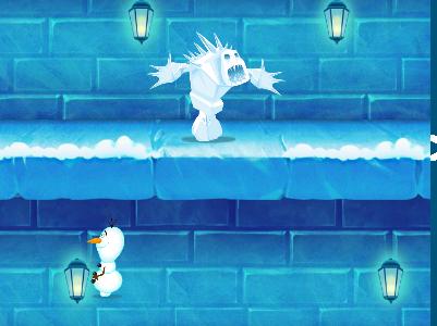 Olaf jeges kalandja