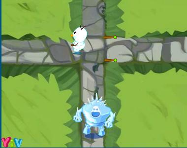 Olaf kerti sétája