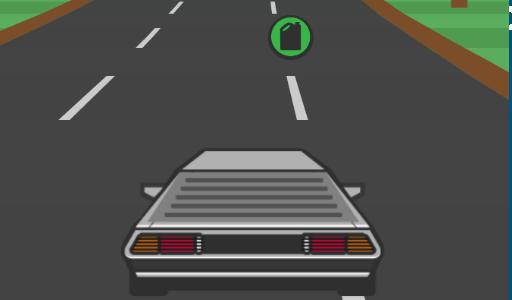 Száguldás az autópályán